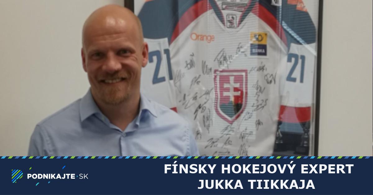 d880e3119fac7 Fínsky hokejový expert Jukka Tiikkaja: Líder by sa nemal báť priznať, že  niečo nevie | Podnikajte.sk